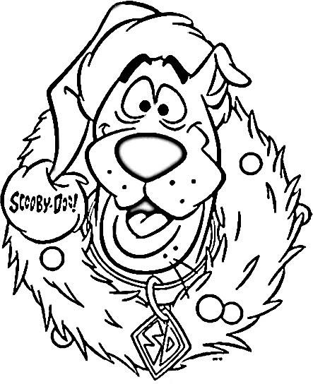 Dessin ã Colorier Magique Scooby Doo