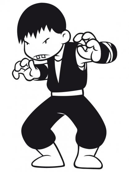 58 dessins de coloriage shuriken school imprimer - Shuriken school ...