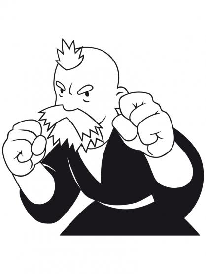58 dessins de coloriage shuriken school imprimer - Dessin anime shuriken school ...