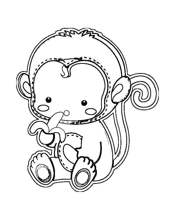 dessin singe araignée