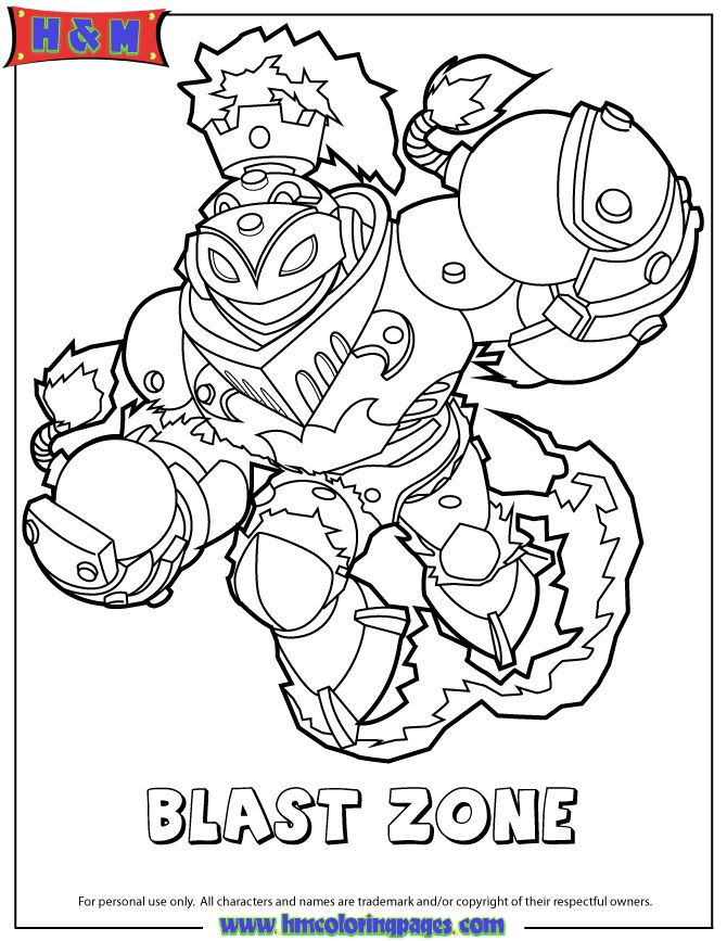 skylander coloring pages free ranger photo31