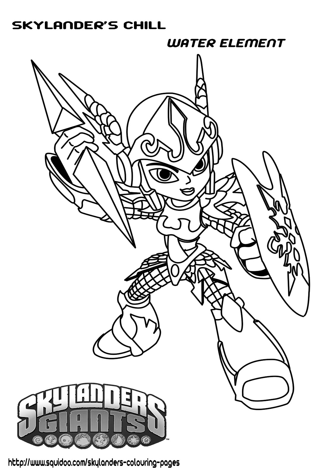 coloriage skylanders eye brawl