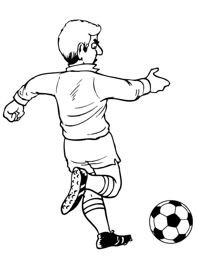 dessin de soccer