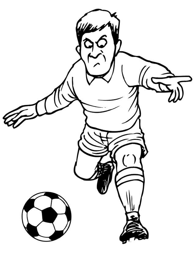dessin soccer dessin