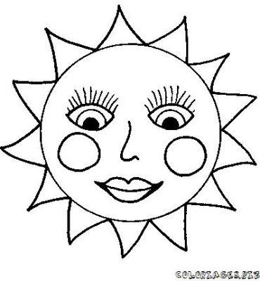 73 dessins de coloriage soleil rigolo imprimer - Image soleil rigolo ...