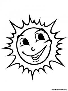 Dessin colorier soleil gratuit imprimer - Dessin de soleil a imprimer ...