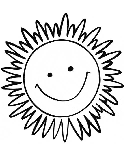 Dessin soleil couchant - Dessins soleil ...