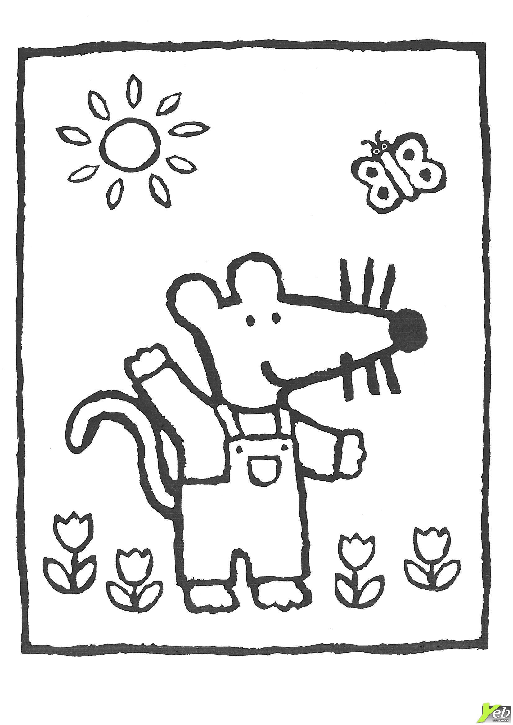 dessin soleil avec lunettes
