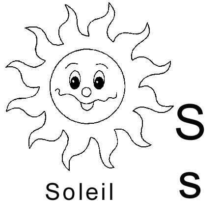 Dessin de soleil a colorier - Dessins soleil ...