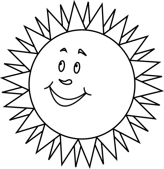 dessin à colorier soleil raiponce