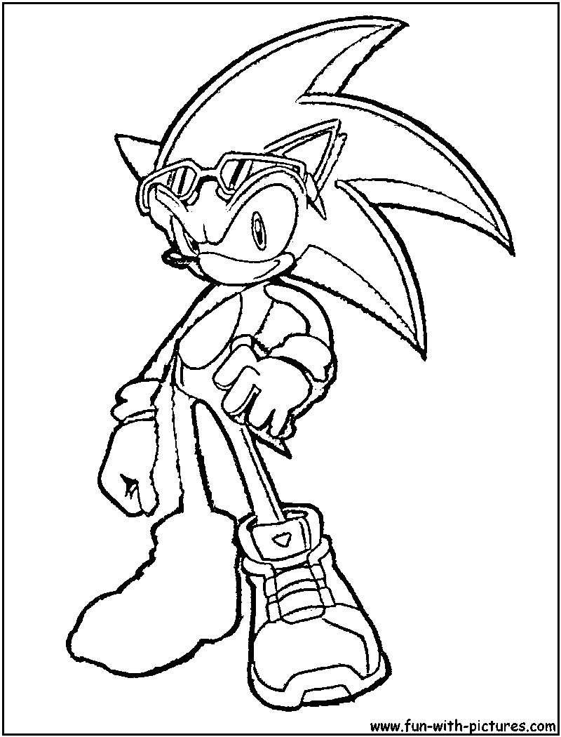 shadow and amy coloring pages - photo#36