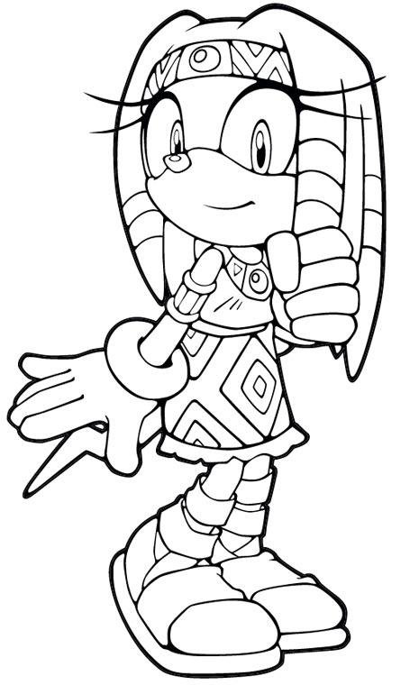 49 Dessins De Coloriage Sonic Boom à Imprimer
