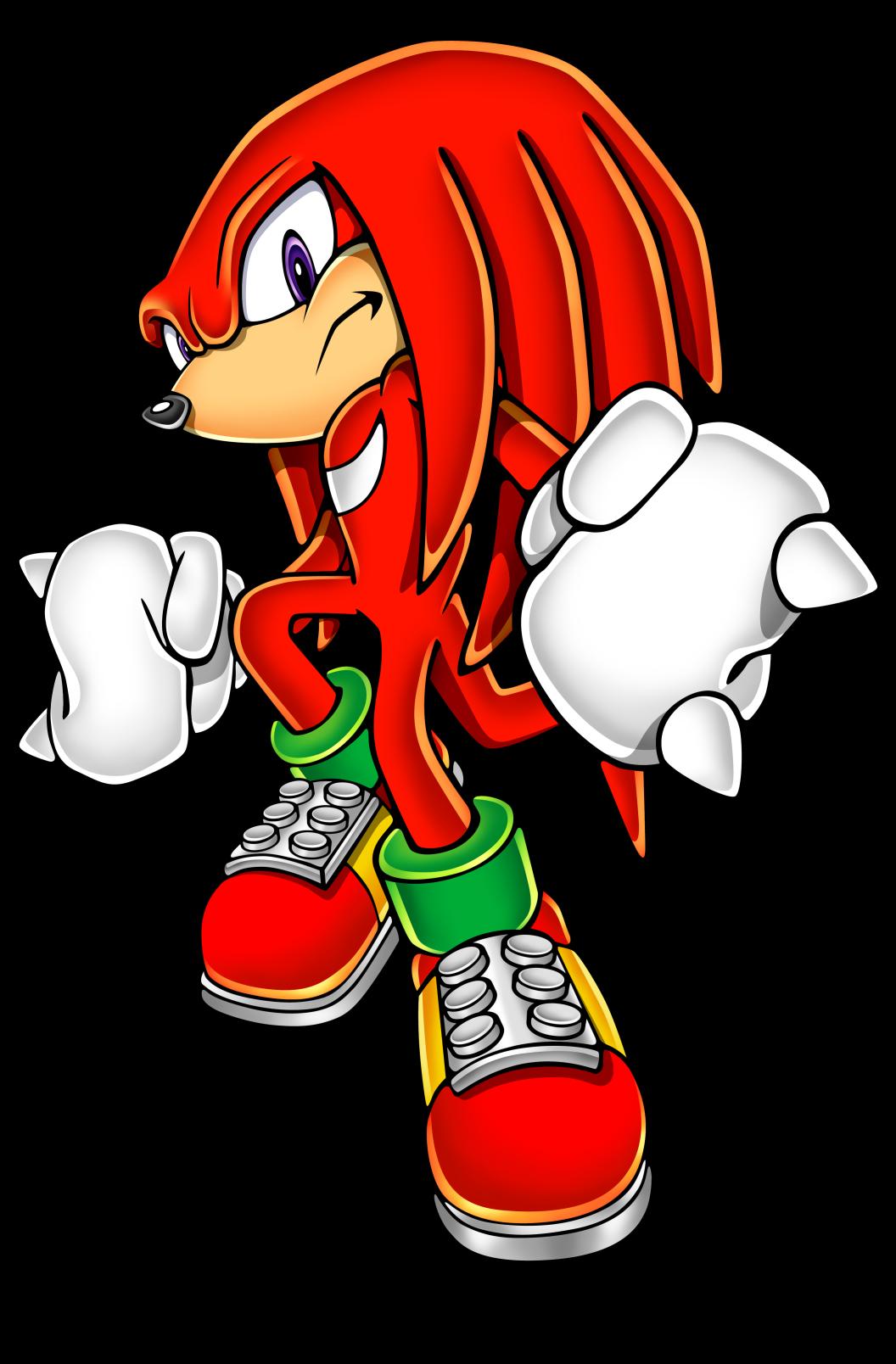 dessin personnage de sonic