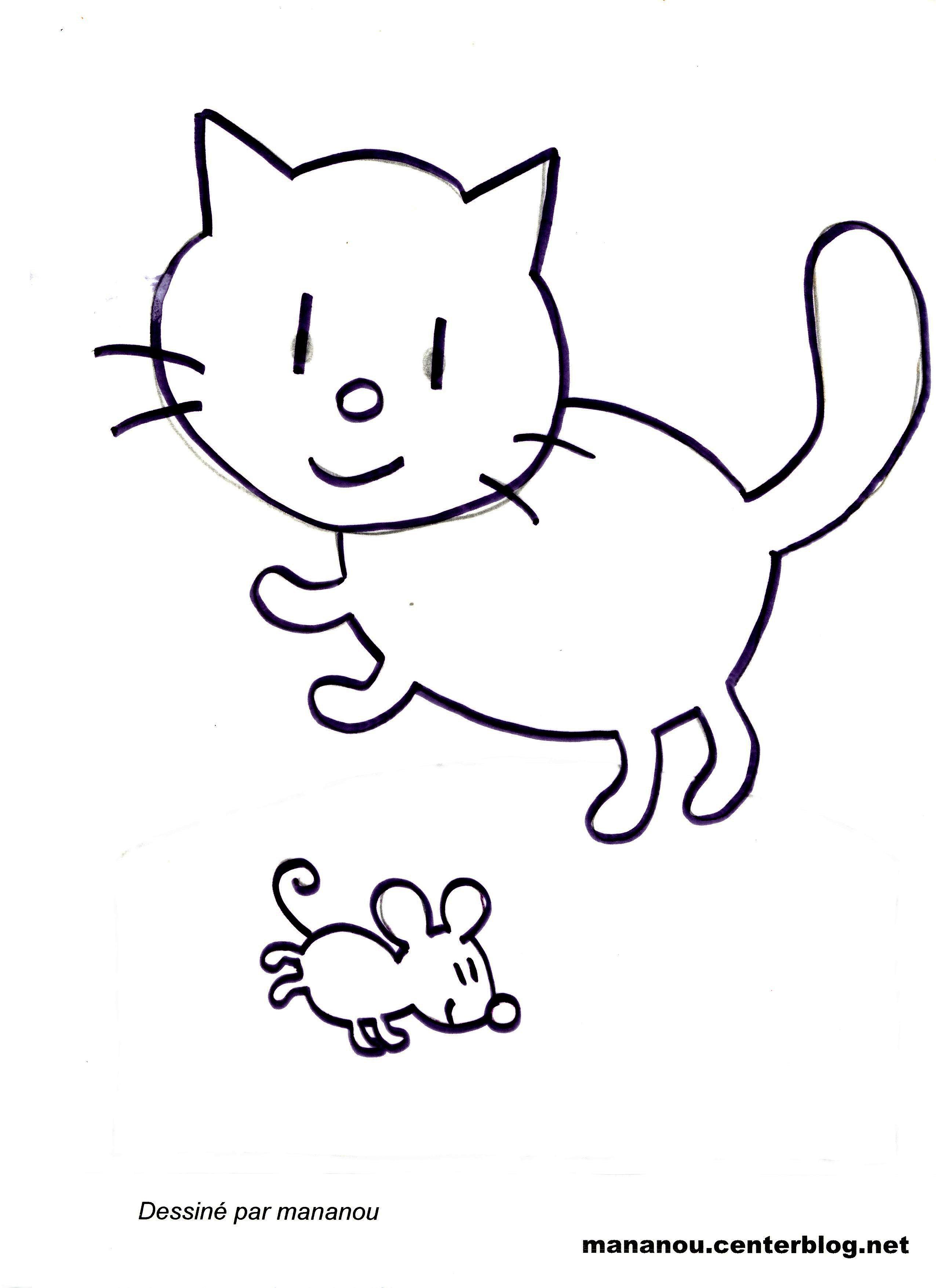 Bien connu dessiner une souris en maternelle ol76 - Dessin de petite souris ...