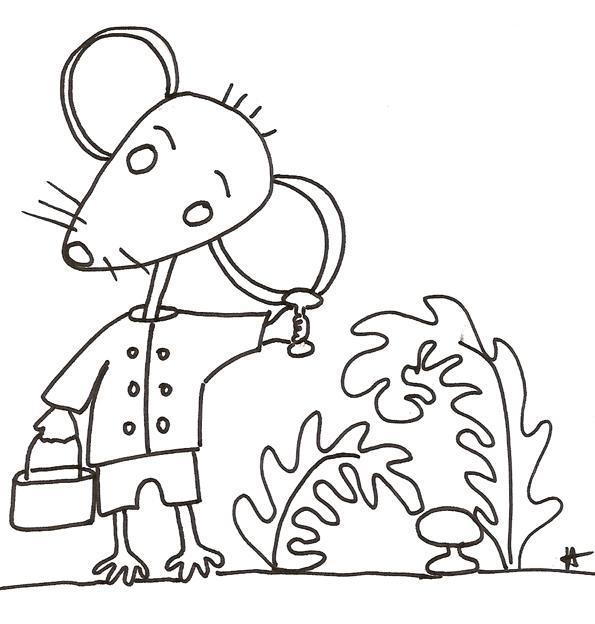 14 dessins de coloriage souris maternelle imprimer - Dessin petite souris ...