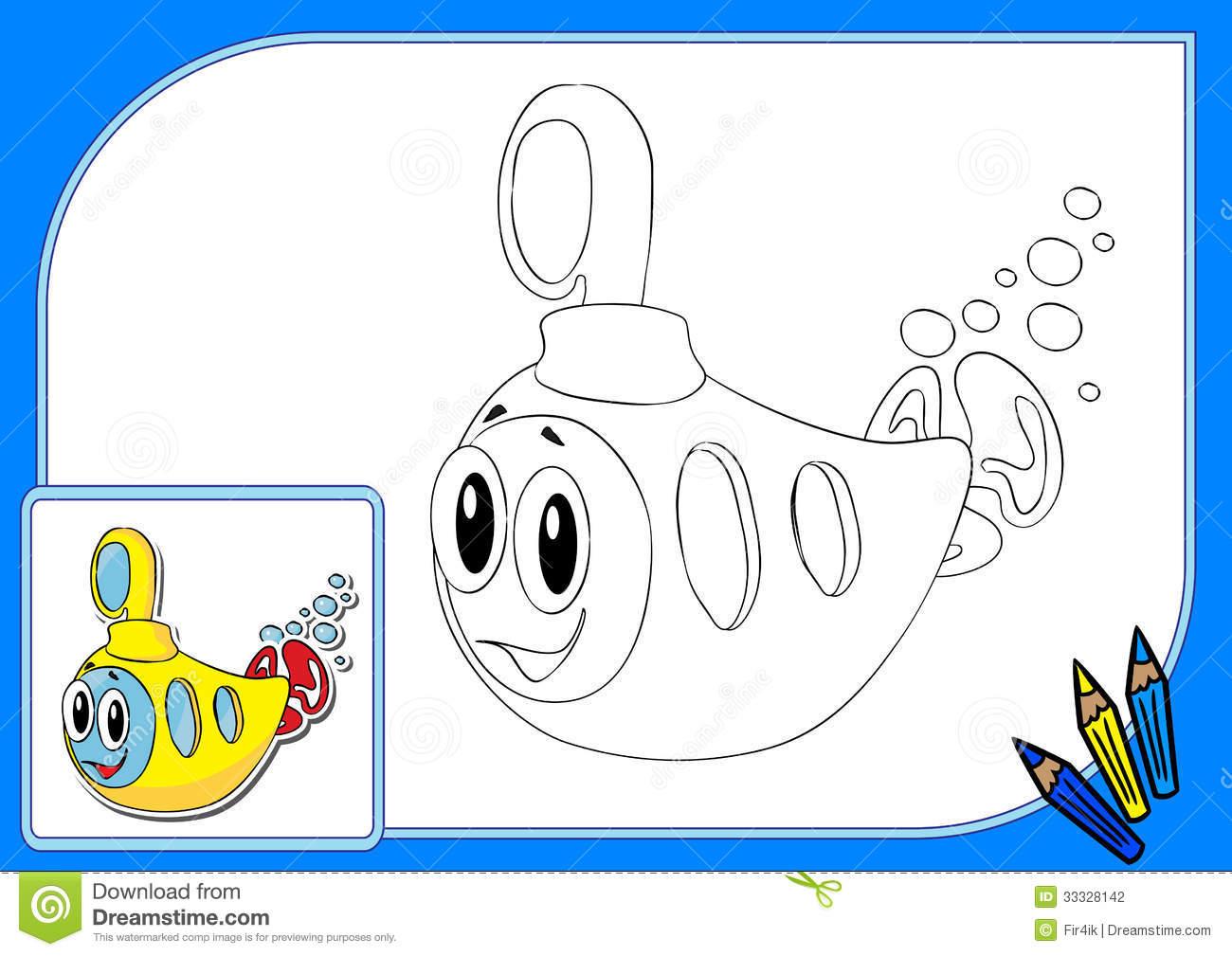 coloriage sous marin imprimer