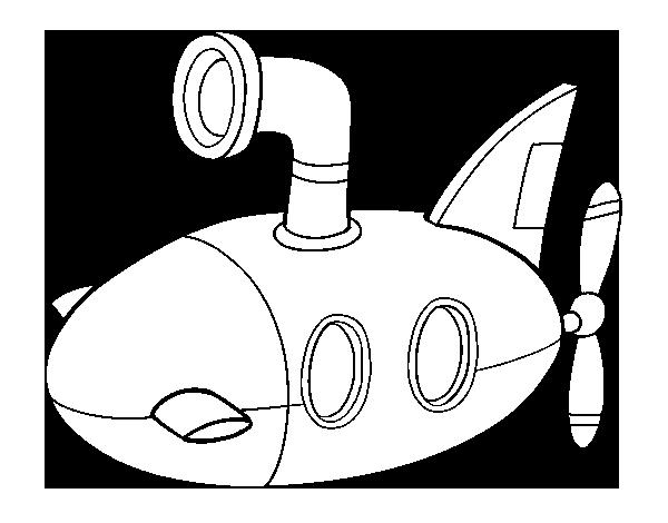 coloriage monde sous marin