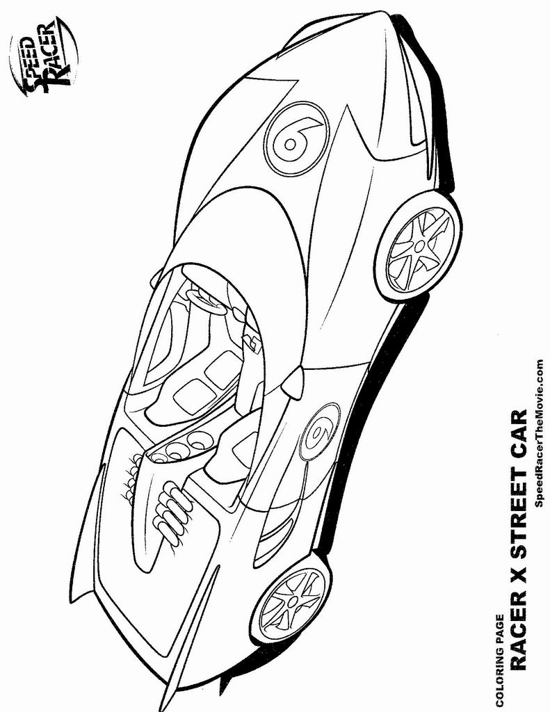 speed racer coloring pages find this pin and more on go speed