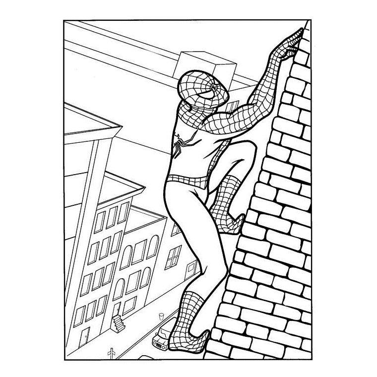 20 dessins de coloriage spiderman 3 imprimer - Coloriage personnage spiderman ...