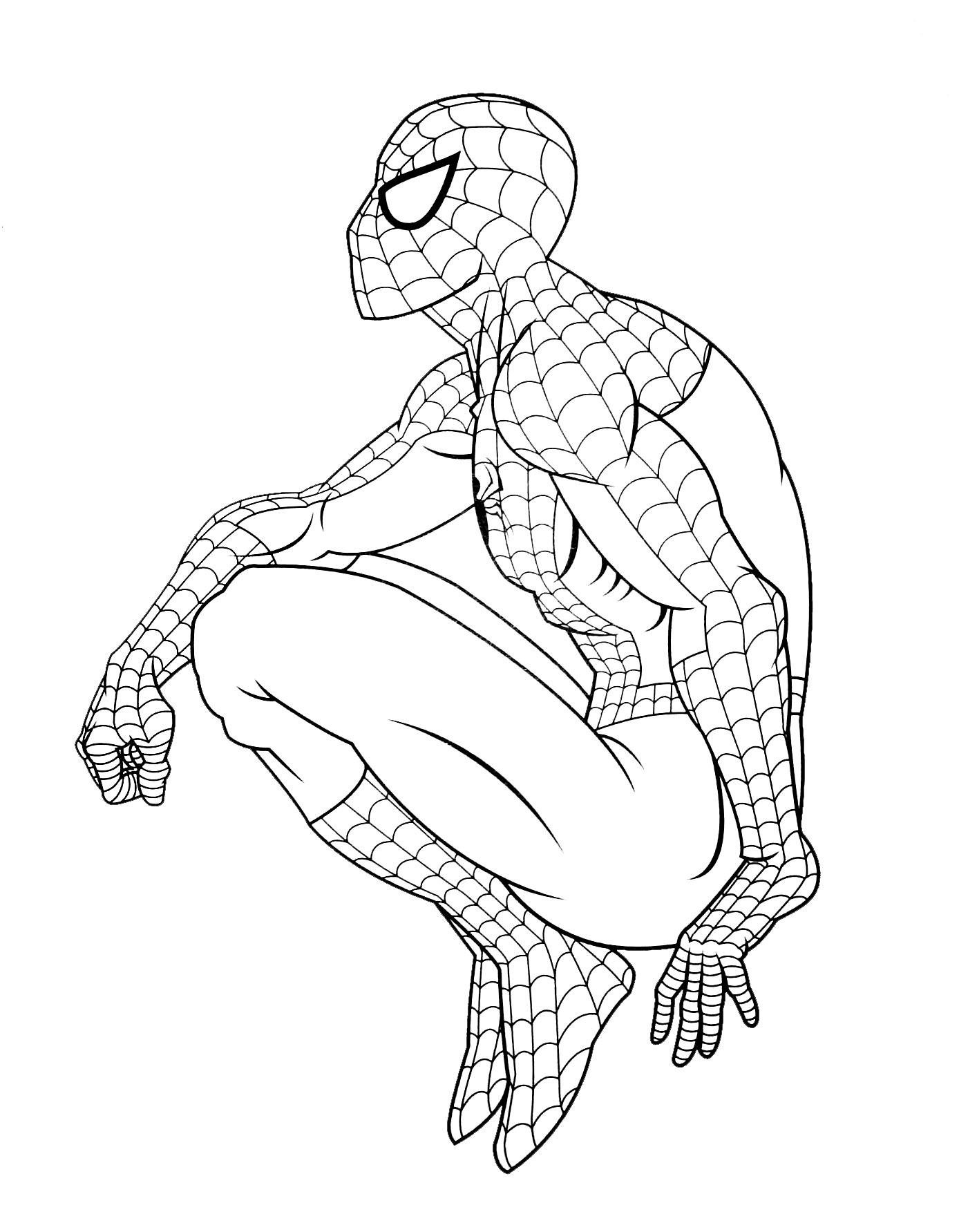 18 Dessins De Coloriage Spiderman 4 Gratuit 224 Imprimer