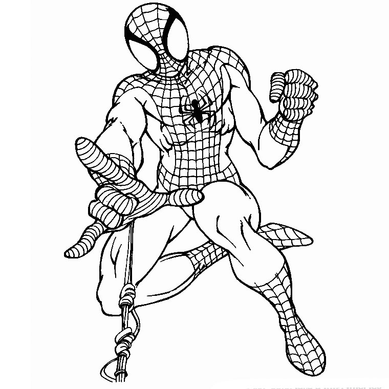 20 dessins de coloriage spiderman en ligne imprimer - Coloriage spiderman a imprimer ...