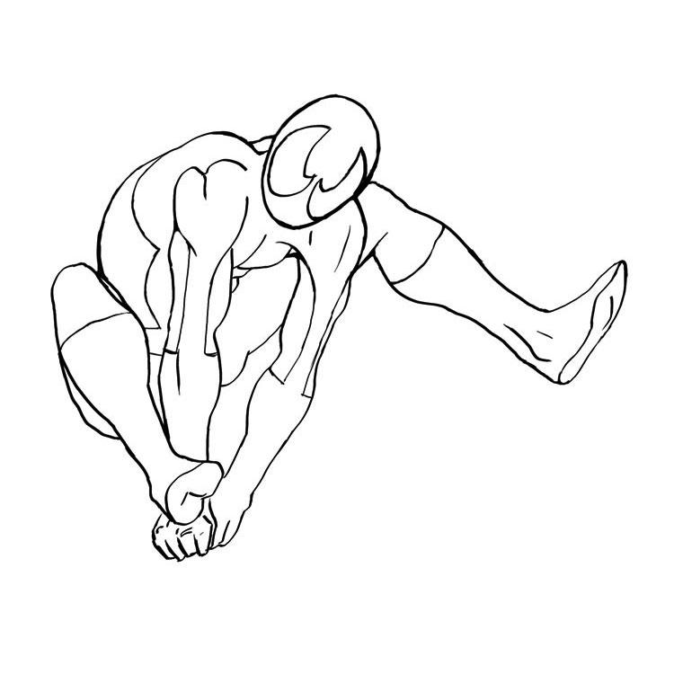 20 Dessins De Coloriage Spiderman Facile A Imprimer