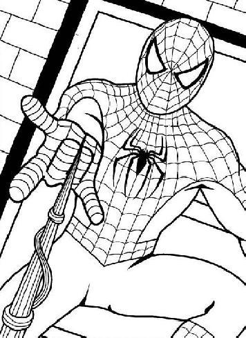19 dessins de coloriage spiderman sur ordinateur imprimer - Coloriage sur ordinateur spiderman gratuit ...