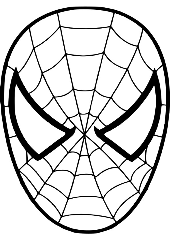 Coloriage spiderman grand format - Grand dessin a colorier ...