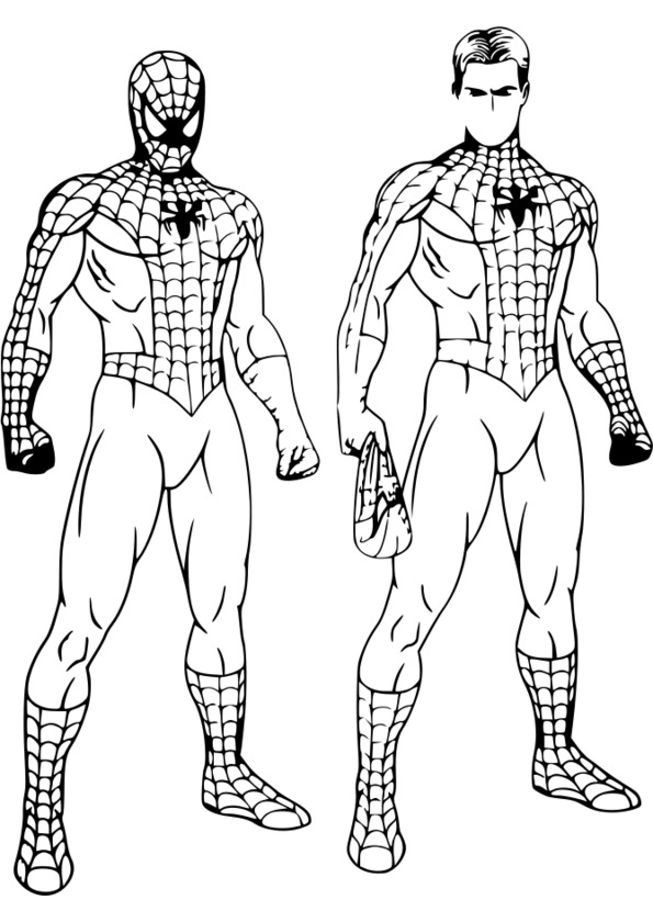 coloriage spiderman 4 gratuit