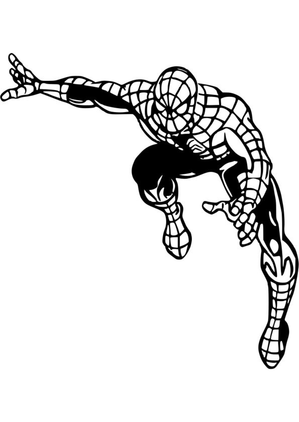 Jeux coloriage spiderman 4 - Jeux de spiderman coloriage ...