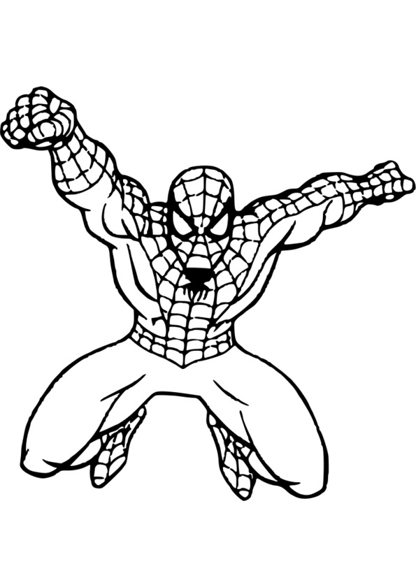 coloriage ultimate spider man