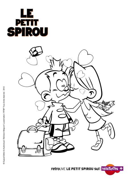 jeux de dessin petit spirou