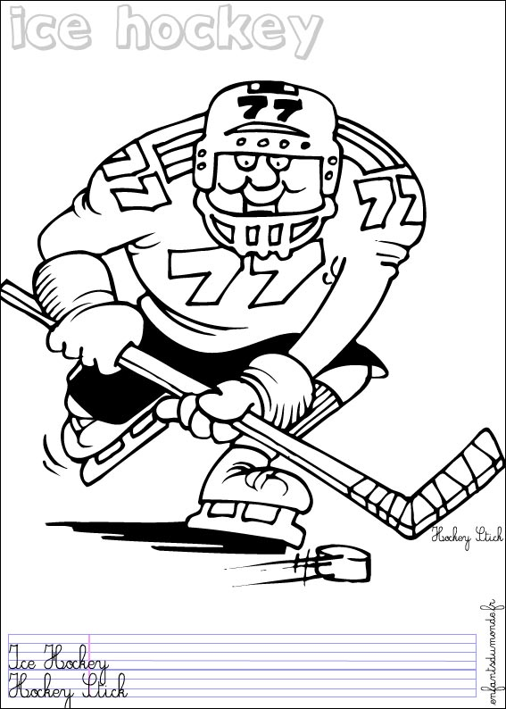 18 dessins de coloriage sport dhiver imprimer 224 imprimer