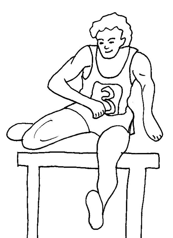 20 dessins de coloriage sport maternelle imprimer. Black Bedroom Furniture Sets. Home Design Ideas