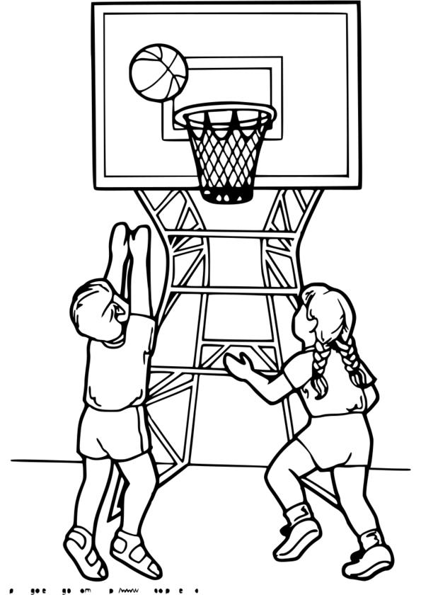 coloriage gratuit sport imprimer