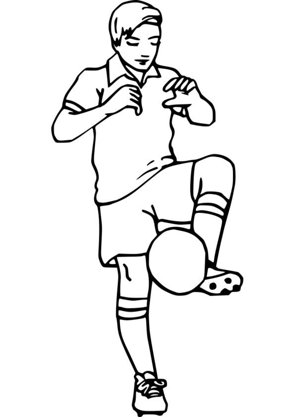 coloriage de sport athlétisme