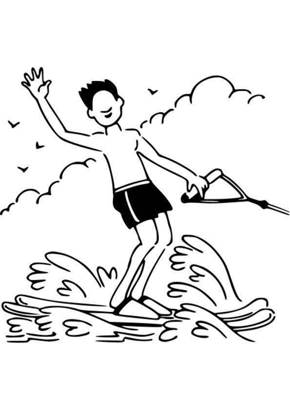 dessin stylisé sport