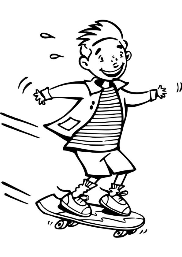 sport et dessin animé