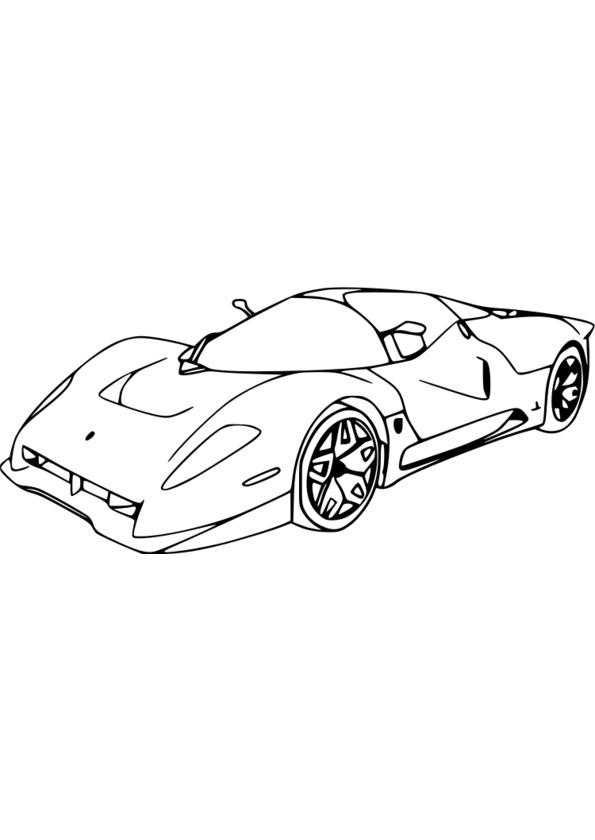 dessin à colorier sport gratuit