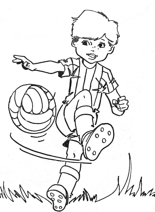 19 dessins de coloriage sports football imprimer imprimer. Black Bedroom Furniture Sets. Home Design Ideas