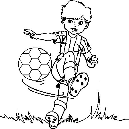 19 dessins de coloriage sports football imprimer imprimer - Coloriage a imprimer foot ...