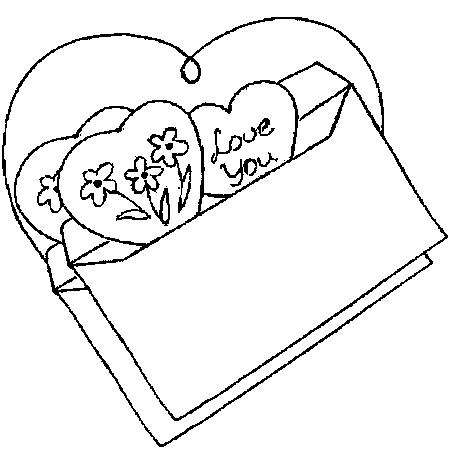 99 dessins de coloriage st valentin a imprimer imprimer - Dessin de saint valentin ...