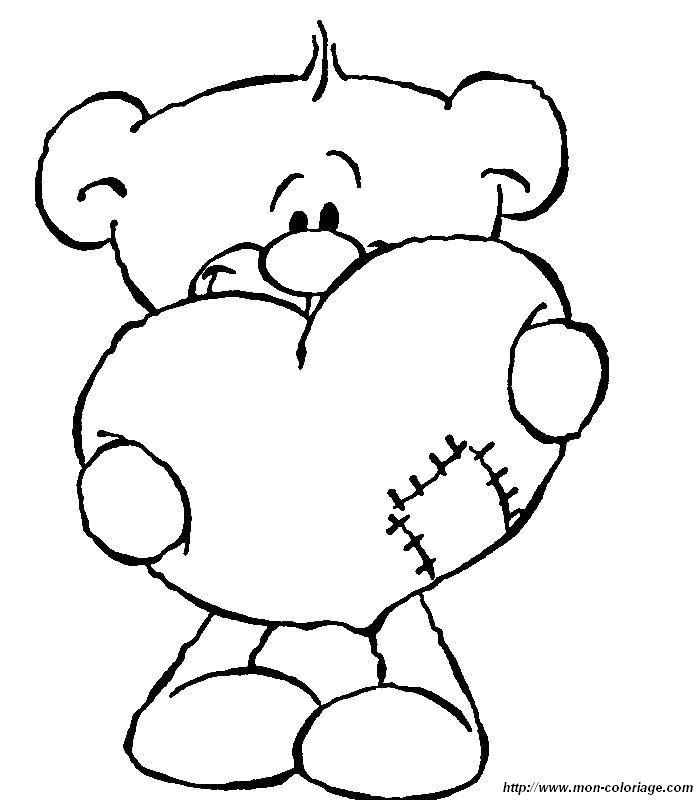 99 dessins de coloriage st valentin coeur imprimer - Dessin de saint valentin ...