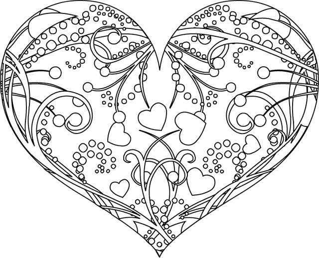 99 dessins de coloriage St Valentin En Ligne à imprimer