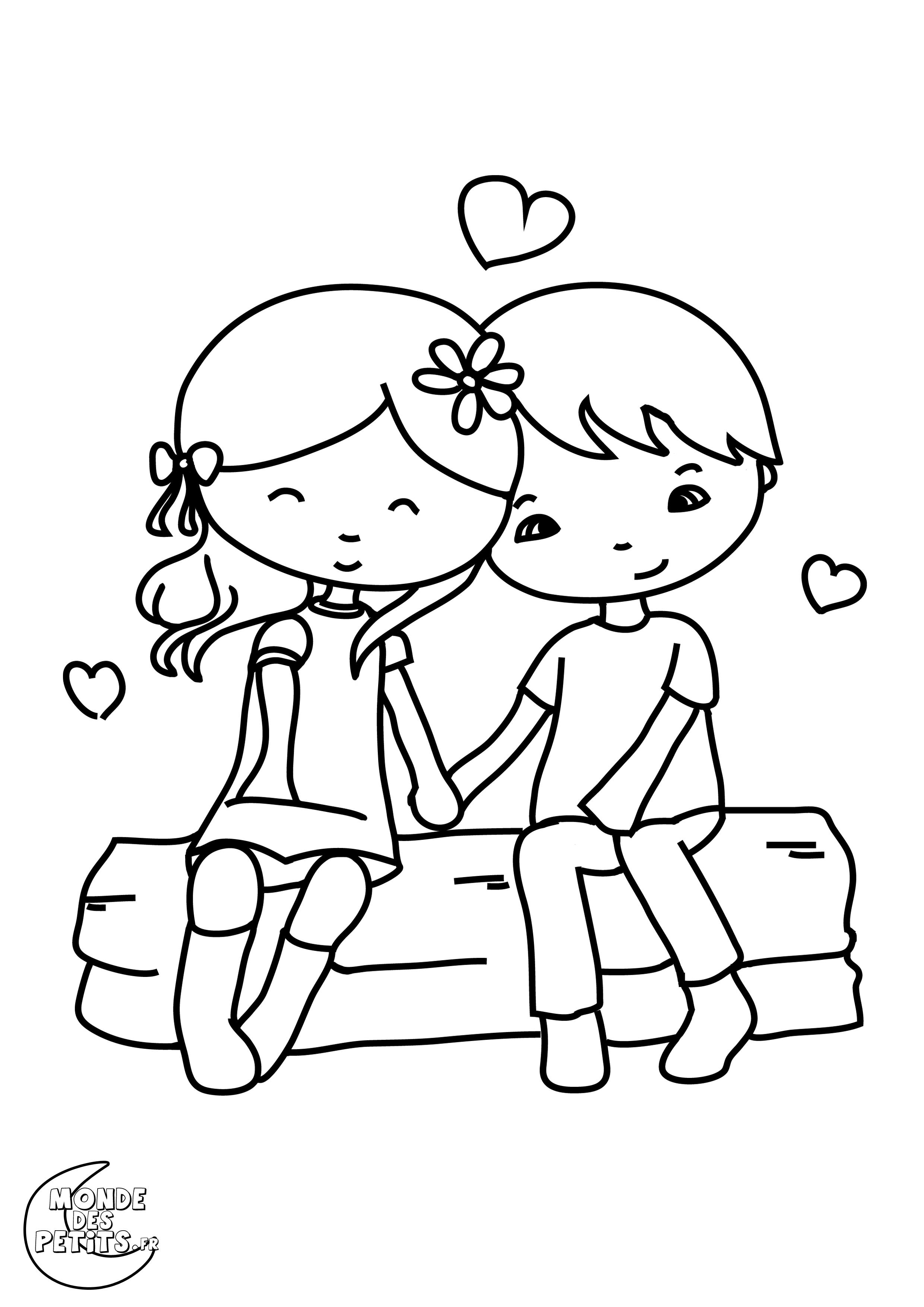 95 dessins de coloriage st valentin pour maman imprimer - Dessin imprimer ...
