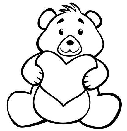 95 dessins de coloriage st valentin pour maman imprimer - Dessin de saint valentin ...