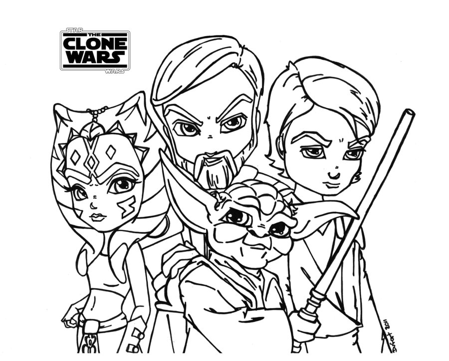 free starwars clones coloring pages. Black Bedroom Furniture Sets. Home Design Ideas