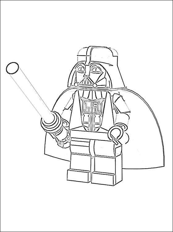 19 Dessins De Coloriage Star Wars Dark Vador 224 Imprimer
