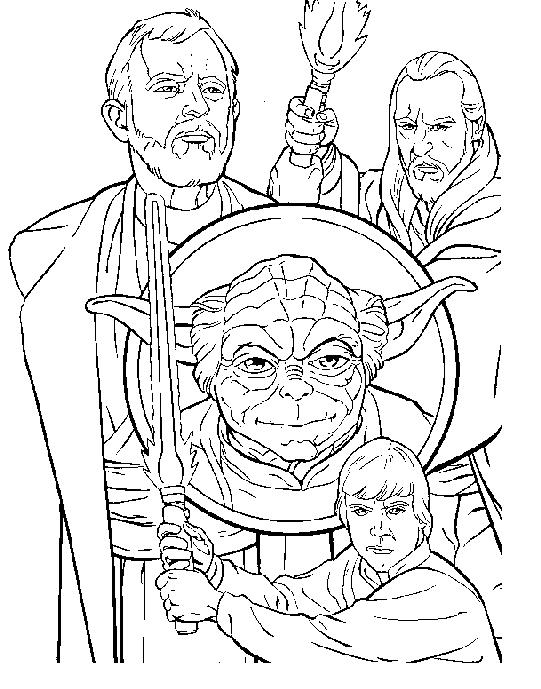 19 dessins de coloriage star wars gratuit imprimer - Coloriage magique star wars ...