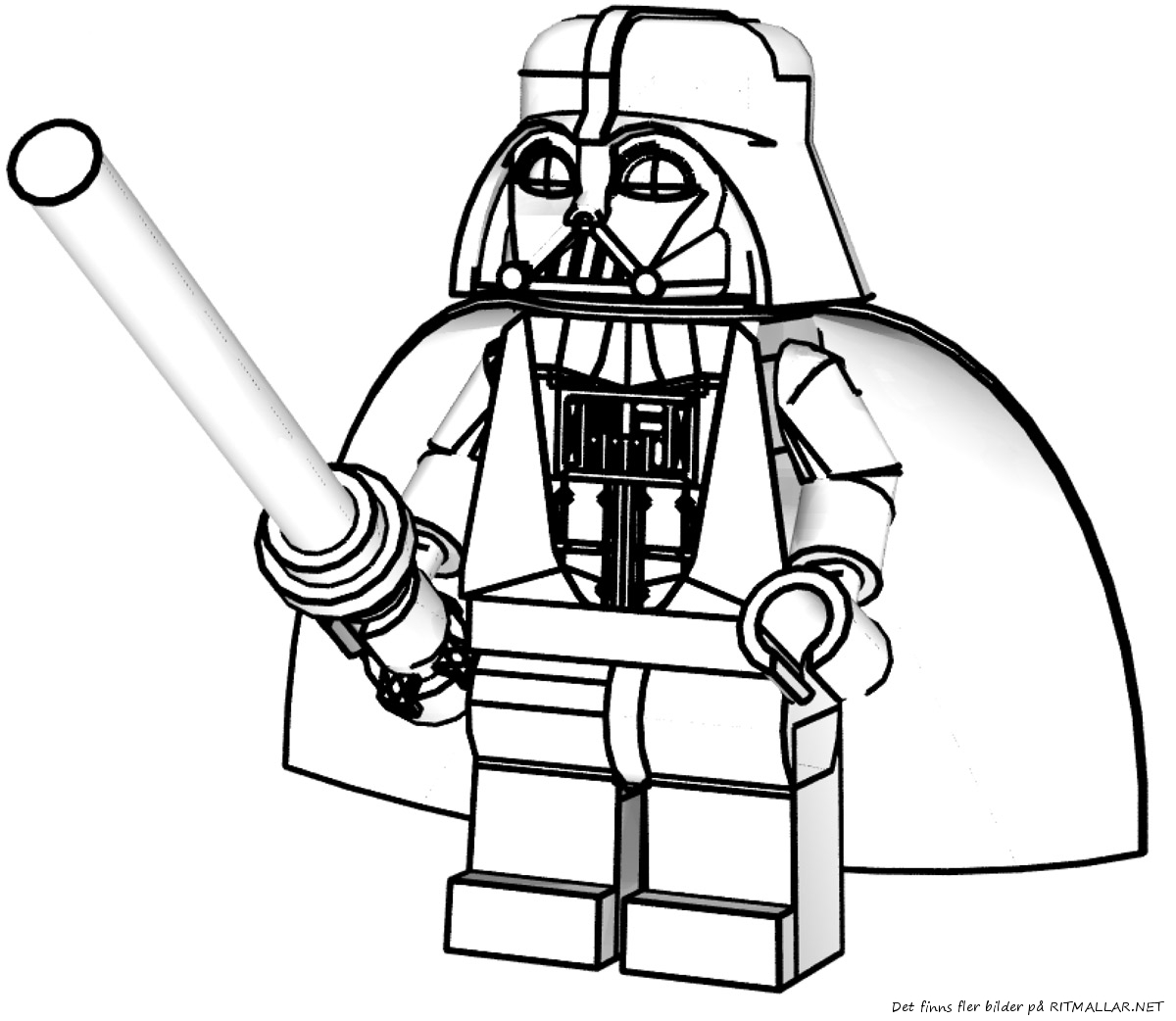 18 dessins de coloriage star wars lego imprimer - Dessin lego star wars ...